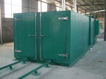 树脂砂轮固化炉